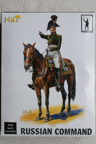 HaT 1/32 HAT9322 Russian Infantry Command (Napoleonic)